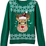 Light-Up Reindeer Sweater