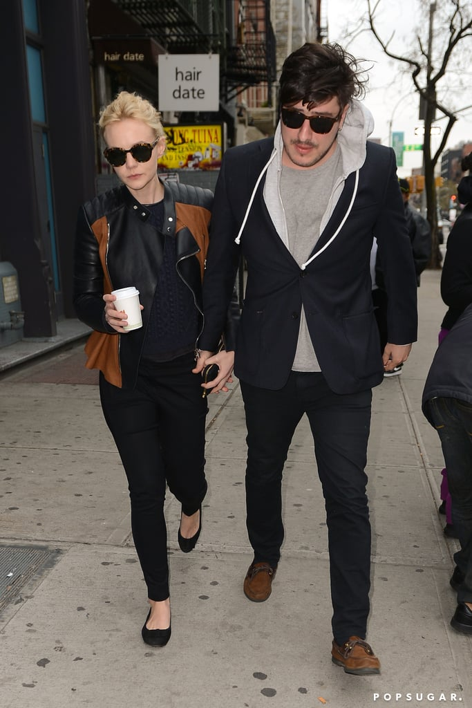 Carey Mulligan and Marcus Mumford Go Casual For a City Stroll