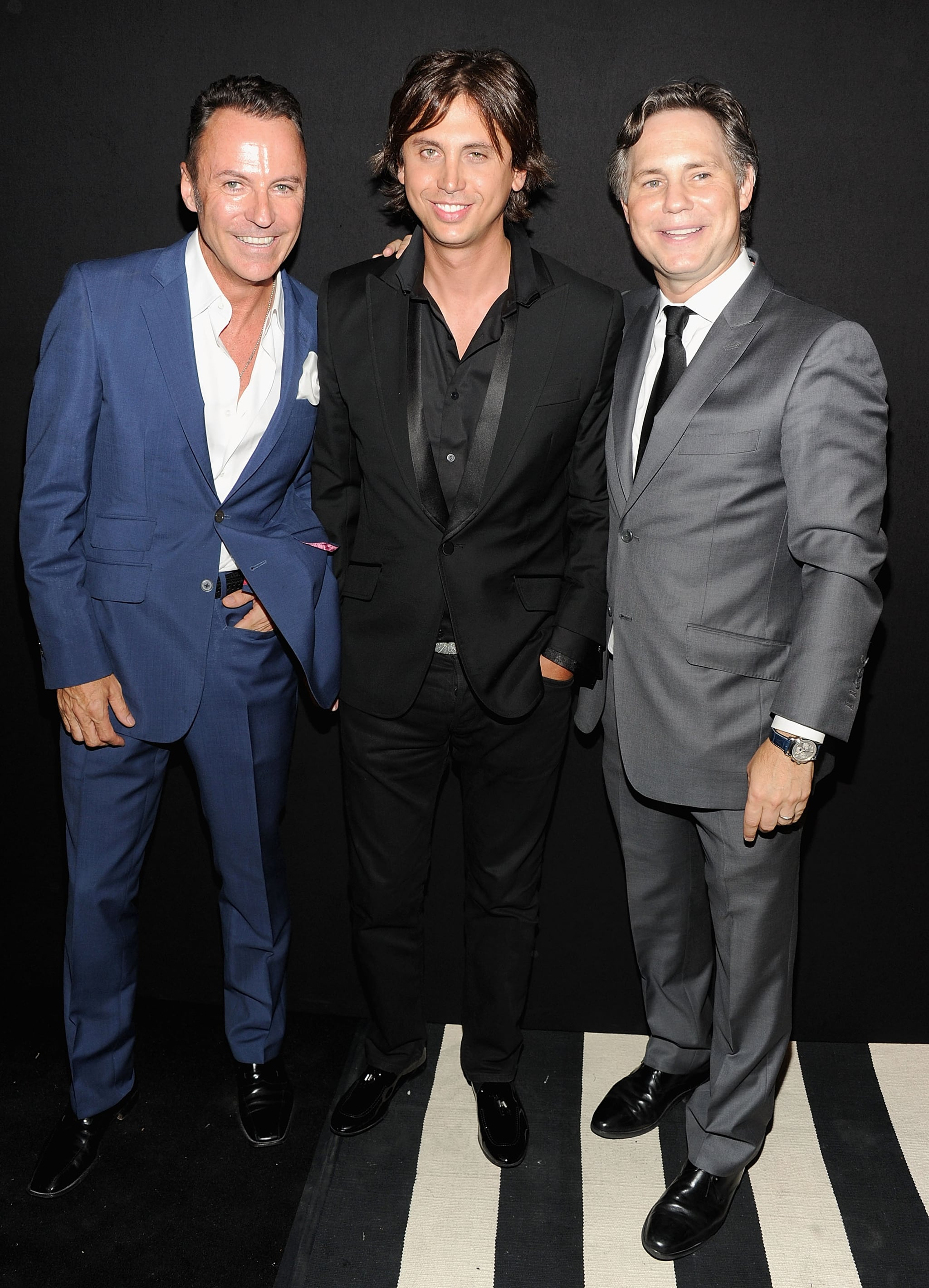 Colin Cowie, Jonathan Cheban and Jason Binn