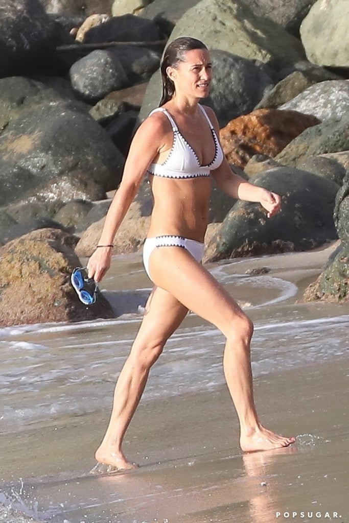 Pippa Middleton Hits the Beach in a Bikini, and It's Already a Strong 2019 Mood