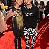 Pictured: Willow and Jaden Smith