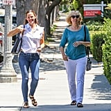 We Would Love to Know What Jennifer Garner and Ben Affleck's Mom Are Laughing About