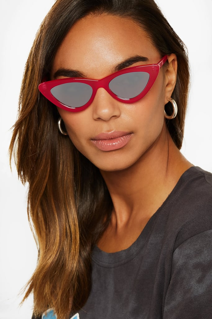 Le Specs x Adam Selman The Last Lolita sunglasses - Pink & Purple Le Specs