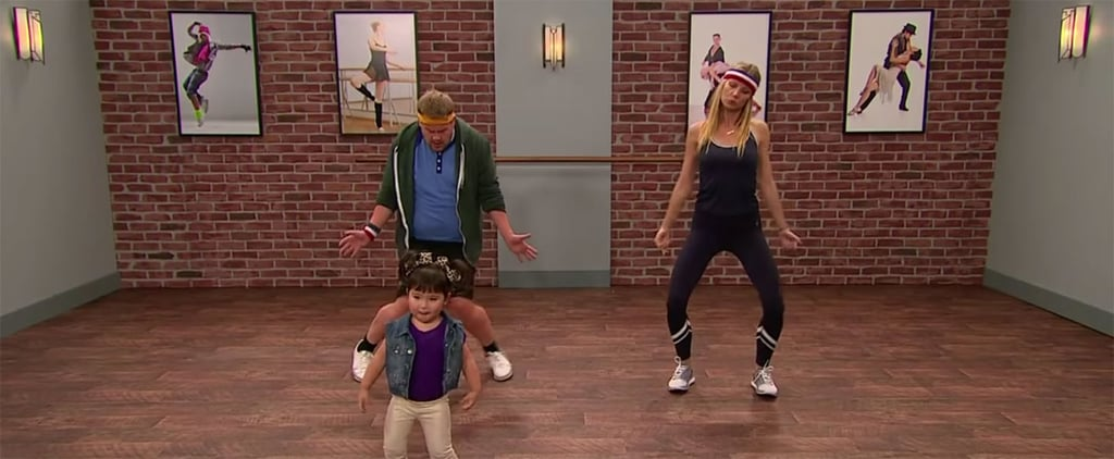 Gwyneth Paltrow Works Up a Sweat With Toddlers in a Hilarious Dance Class With James Corden