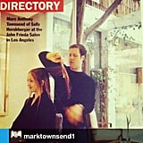 Minka Kelly sent a shout-out to her hairdresser Mark Townsend via her Instagram. Source: Instagram user minkak
