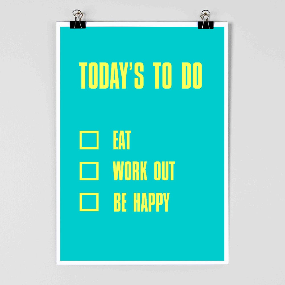 What else do you need to do in life besides Eat, Work Out, and Be Happy ($11-$31)?
