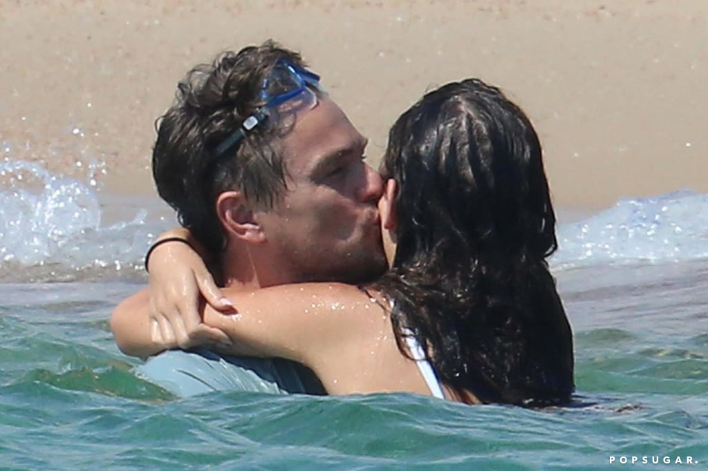 "In our latest edition of ""Leonardo DiCaprio Looking Silly While His Model Girlfriend Looks Sexy,"" the 43-year-old actor takes a dip in the ocean with Camila Morrone during a lavish vacation in Italy. On Tuesday, Leo and Camila were spotted in Nerano enjoying some snorkeling together. While Camila flaunted her fit figure in a leopard-print bikini, Leo went shirtless and accessorized with a hot pair of goggles. Later in the week, the couple made their way to Corsica, France, where they indulged in a sweet PDA session while wading in the water. Leo looked quite in love as he gave Camila a few kisses and put his arm around her while they walked across the sand.      Related:                                                                                                           Leonardo DiCaprio and Model Girlfriend Camila Morrone Wear Matching White Tees in NYC               Last week, Leo pulled out some animated facial expressions while hanging with Camila and friends on a yacht in St.-Tropez. Meanwhile, in LA, filming is still going down on Leo's upcoming Manson murder movie, Once Upon a Time in Hollywood. His costar Margot Robbie shared a photo of herself channeling Sharon Tate on the set, writing, ""First look."" Keep reading to see Leo and Camila's latest Summer outing, then look back on all the other ladies Leo has romanced over the years."