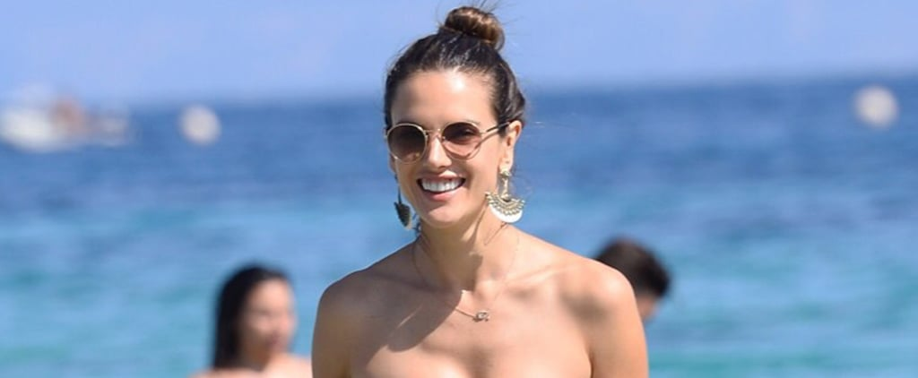 Alessandra Ambrosio Hits Up the Beaches of Ibiza With Her Banging Bikini Body