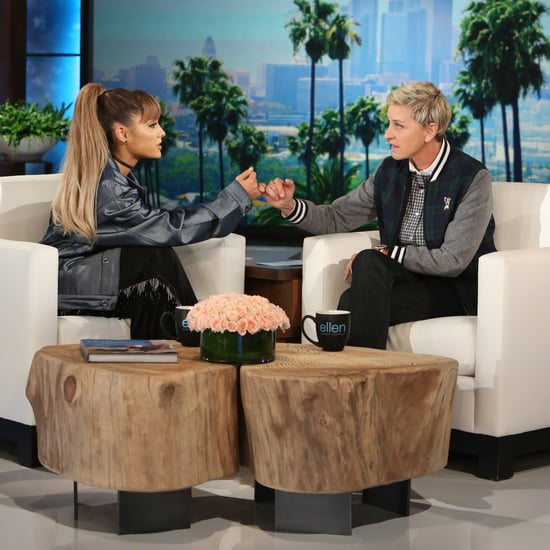 Ariana Grande on The Ellen Show September 2016
