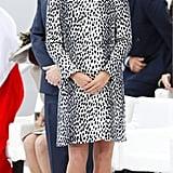 Kate Middleton's Leopard Coat, 2013