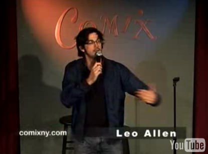 Comedian Leo Allen on the Perils of Drinking