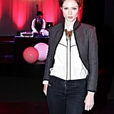 Coco Rocha at the Parsons 560 Farewell Event.