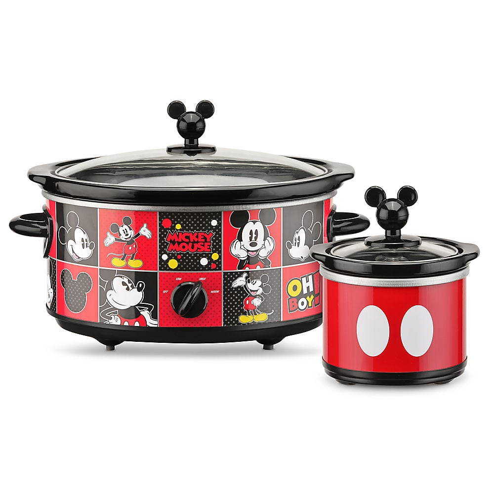 Great Mickey Mouse Slow Cooker With Dipper