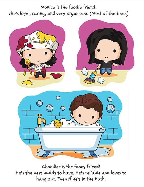 Friends Children's Book With Cute Character Illustrations