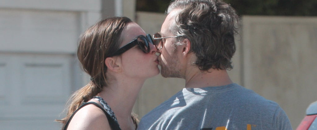 Anne Hathaway and Adam Shulman Share a Smooch After Hitting the Gym