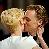 Tilda Swinton and Tom Hiddleston, 2012