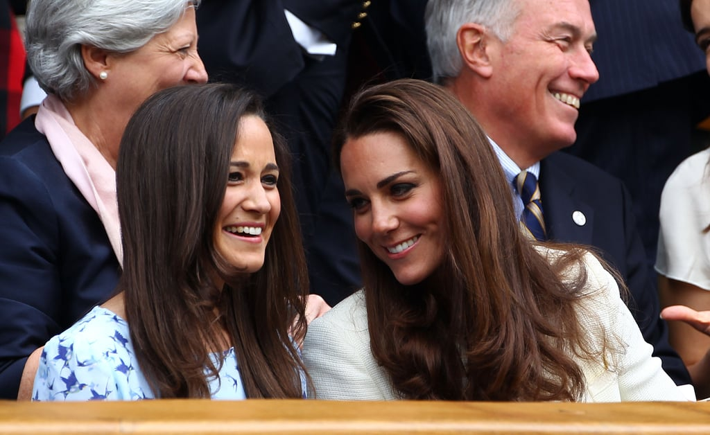Pippa Middleton Kate and Pippa were born just 20 months apart and have been best friends as well as sisters their whole lives. With the same passions and interests, taste in clothes, and shared friends, they were the perfect roommates when they lived in London together, while Pippa was on hand to help Kate plan her wedding and gets on very well with the royal family. The sisters still holiday together, and Pippa is a frequent visitor to Anmer Hall.  Alice Avenel Proving that the friendships formed in teenage years can be the strongest, Alice is yet another former Marlborough girl and is connected to all those closest to Kate. Not only was she friends with the duchess at school — they were on the tennis team together — but she was also a teenage friend of Prince William and then went on to Edinburgh University with Pippa Middleton. In recent years, William and Kate went to Alice's wedding, and they are still close now. Alice's daughter Rose is just a year older than Prince George.