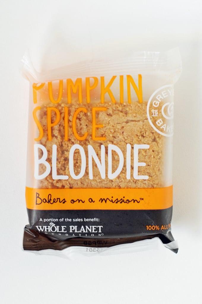 Greyston Bakery Pumpkin Spice Blondie