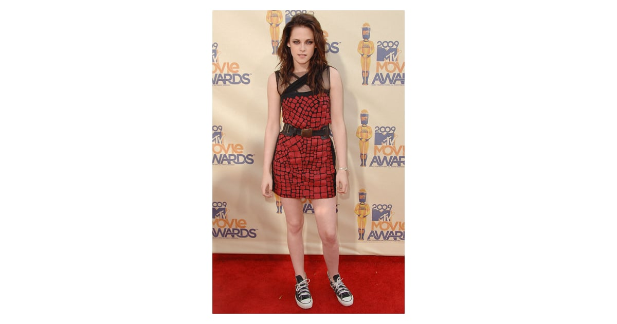 Kristen Stewart Red Carpet Style Madonna For Dolce And