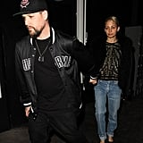 Nicole Richie and Joel Madden Hold Hands During a Casual Date Night in LA