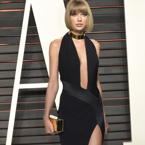 Taylor Swift in Alexandre Vauthier at Oscars Party 2016