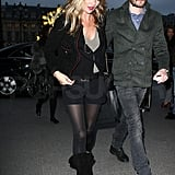 Kate Moss Rumored to Be Moving Down the Street From Jude and Sienna