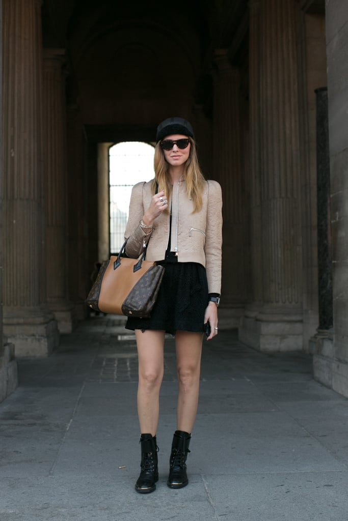 Chiara Ferragni had the new Louis Vuitton bag on her arm.