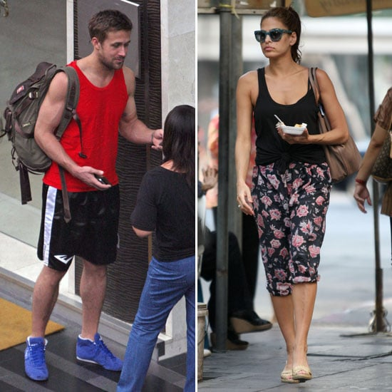 Ryan Gosling and Eva Mendes in Thailand Pictures