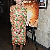 At the Women in Gold Cocktail Reception in 2015