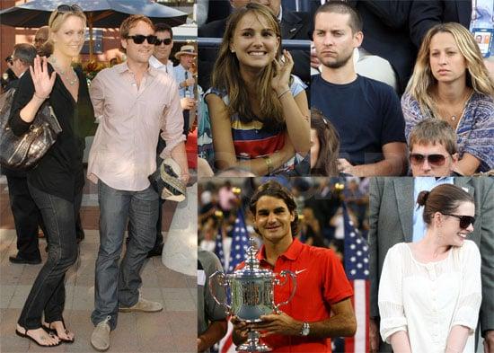 Photos of Celebrities Like Natalie Portman, Donald Trump, Tobey Maguire at US Open Finals