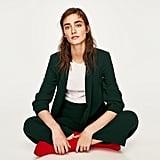 Zara Roll-Up Sleeve Jacket