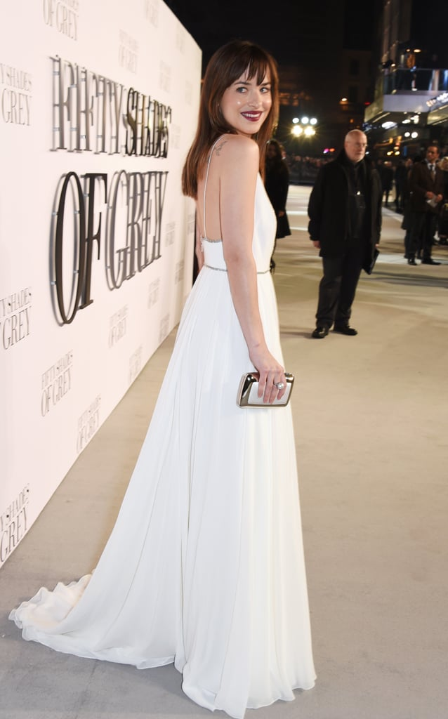 From the side. We're a fan of how simple but glamorous the look is.