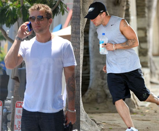 Photos of Ryan Phillippe on His Phone