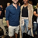 Chace Crawford and Kelly Rowland