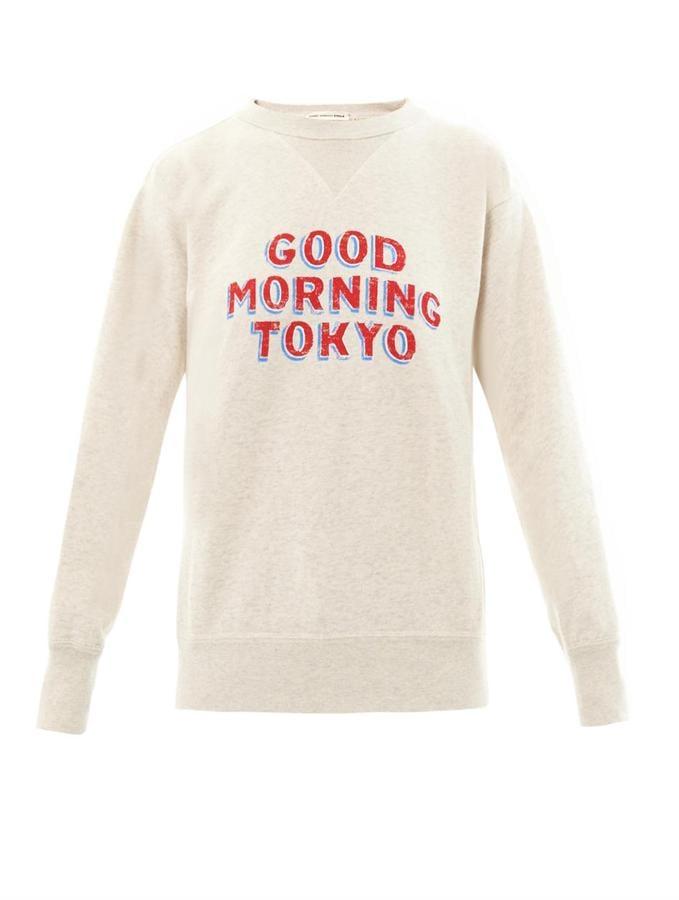 Etoile Isabel Marant Good Morning Tokyo Sweatshirt ($310)