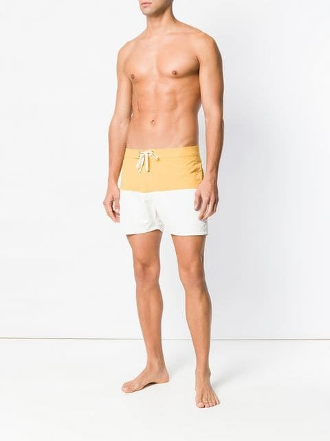Saturdays NYC Colour Block Swim Shorts