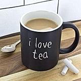 Personalized Chalkboard Ceramic Coffee Mug