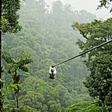 Zip-Line in Costa Rica