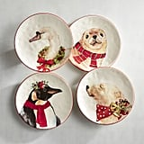 Christmas Animals Salad Plate Set ($28, originally $35)