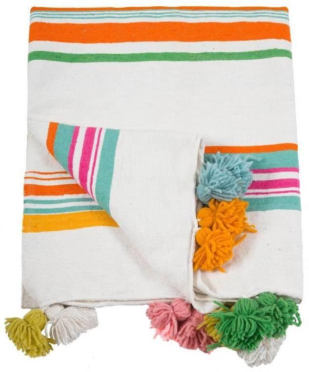 Pom Pom Blanket ($180)