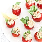 Cajun Crab-Stuffed Tomato Poppers