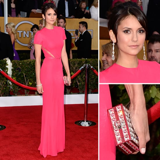 Nina Dobrev: SAG Awards Red Carpet Dresses 2013 | POPSUGAR ...