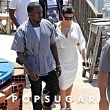 Kim Kardashian and Kanye West Tour Brazil with Will Smith
