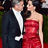George and Amal Clooney — 2015