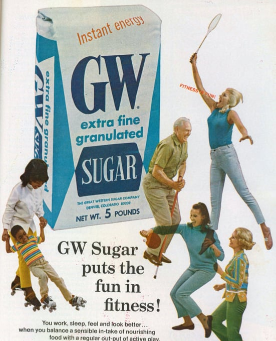 These athletic ladies are on one helluva sugar high.
