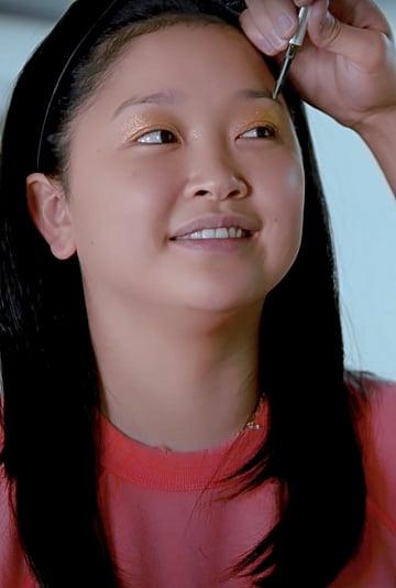Watch Lana Condor's Boyfriend Do Her Makeup