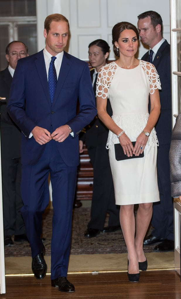 Kate Middleton in Lela Rose