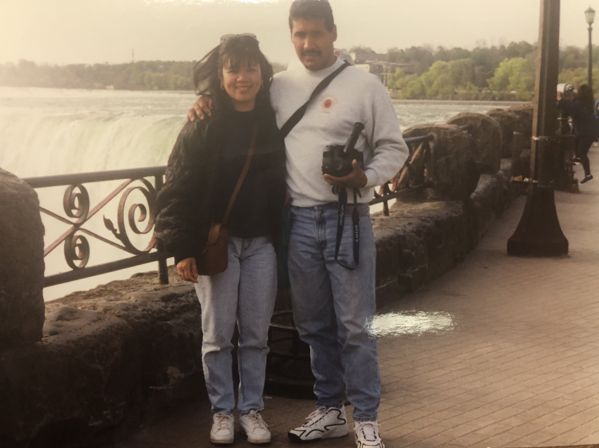 My parents in the early 90s.