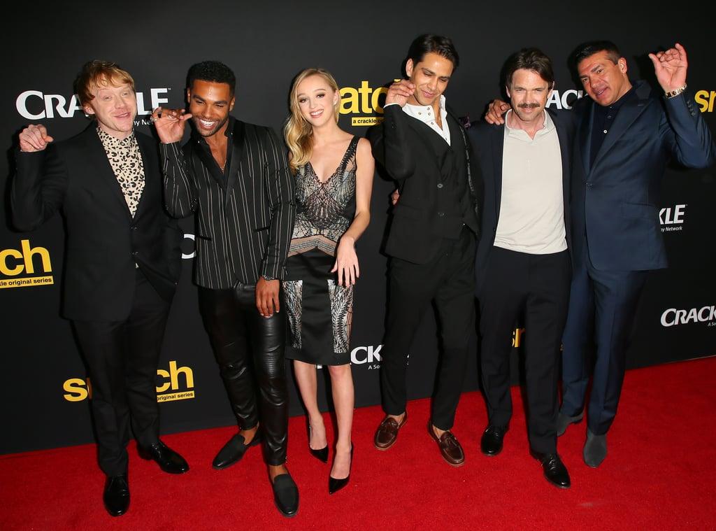 Rupert Grint at Snatch Premiere in LA March 2017