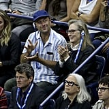 Meryl Attended the US Open With Her Son, Henry
